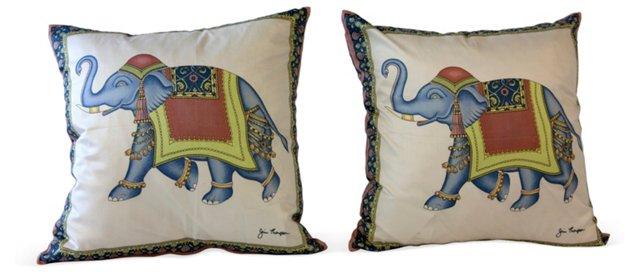 Jim Thompson Pillows, Pair I