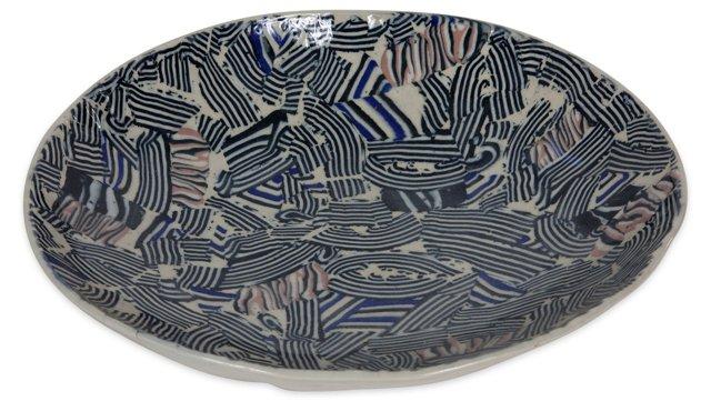 Large Studio Pottery Platter