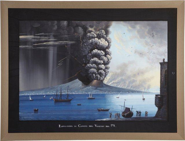 Vesuvius Print