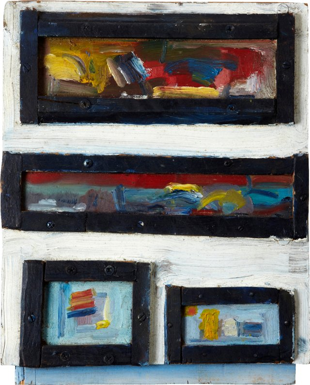Assemblage of Oil Paintings, Set of 4