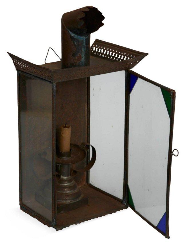 19th-C. Tole Lantern