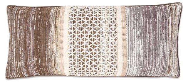 Aztec Border Pillow