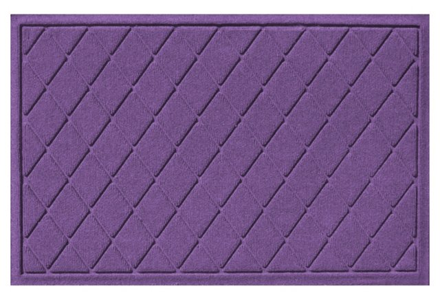 Argyle Mat, Purple