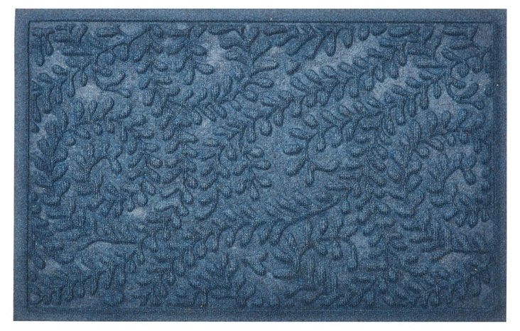 Boxwood Mat, Navy