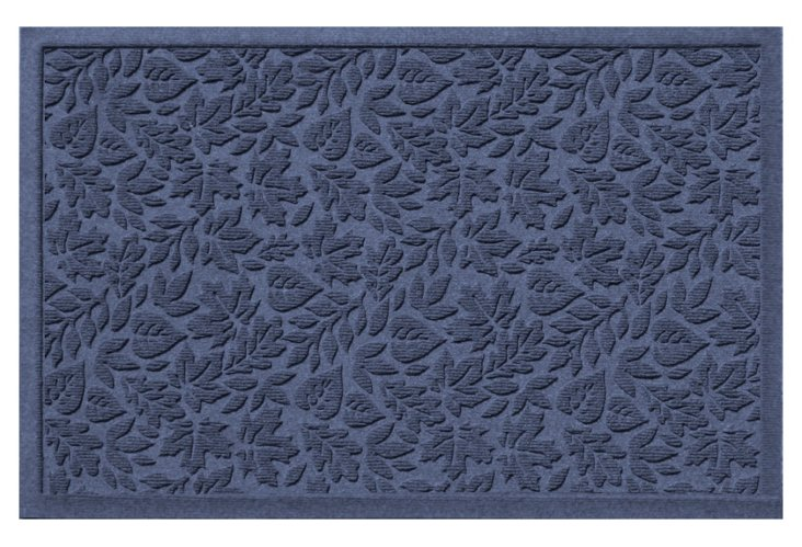 "1'11""x3' Fall Day Mat, Navy"