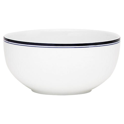 Bistro Christianshavn Bowl, White/Blue