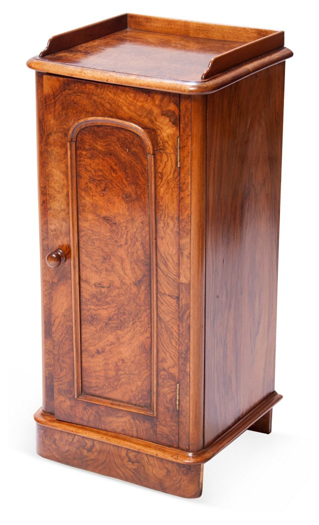 Burl-Wood Cabinet