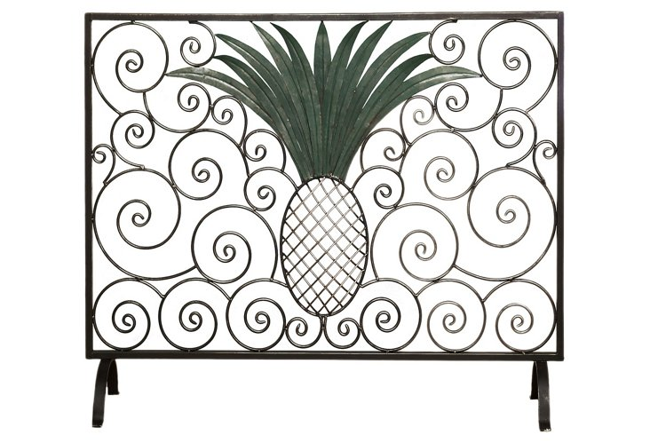 Pineapple Fire Screen