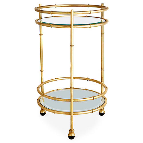 Rochdale Round Bar Cart