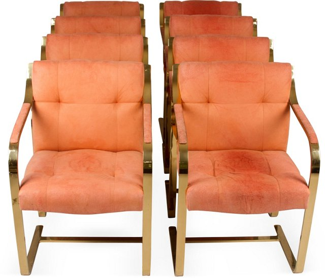 Mies van der Rohe Chairs, Set of 8