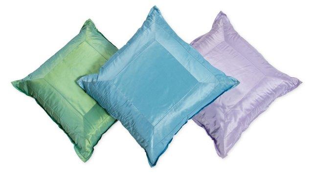 Silk Pillow, Set of 3