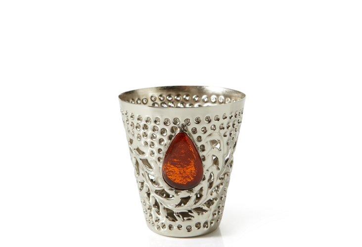 Seraphina Tea Light, Orange