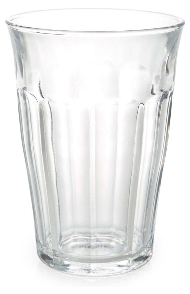 S/6 Picardie Highball Glasses, 12 oz