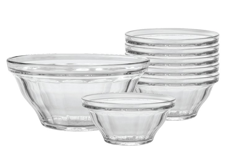 S/7 Assorted Picardie Bowls