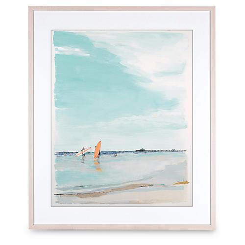 Tangerine Surfboard, Karin Olah