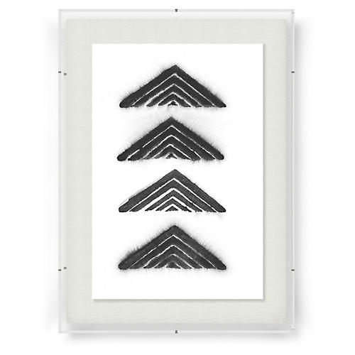 Adrienne Wong, Aztec Triangle-Black