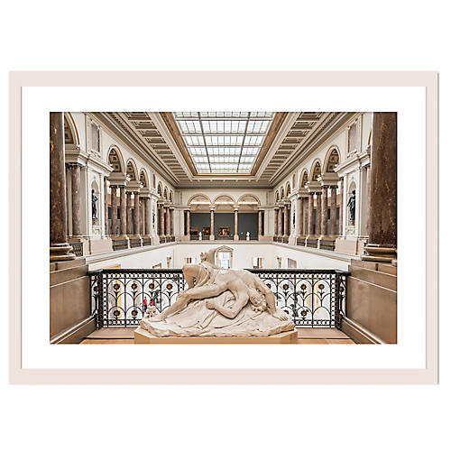 Brussels' Royal Museum Hall, Richard Silver