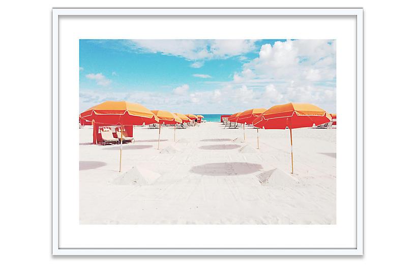 Natalie Obradovich, Orange Umbrellas