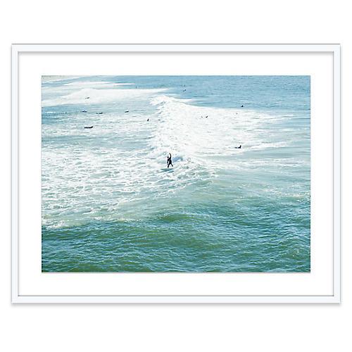 Lone Surfer, Bryce Duffy
