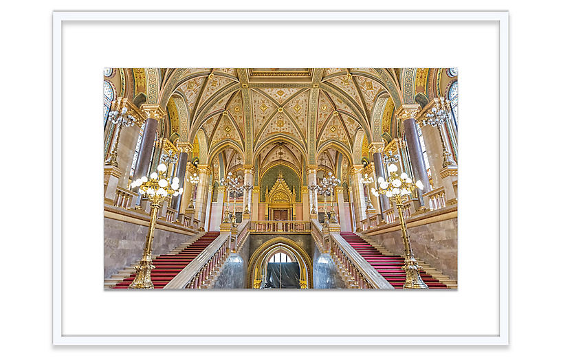 Richard Silver, Parliament Staircase, Budapest