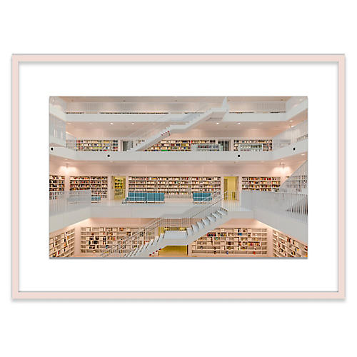 Stuttgart Public Library, Richard Silver