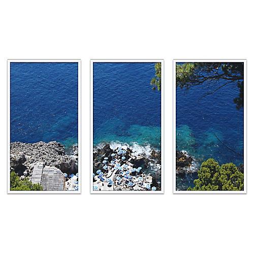 Fontelina Cliffside Triptych, Natalie Obradovich