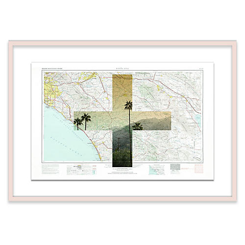 Santa Ana Map Maps