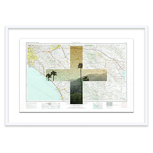 Christine Flynn, Santa Ana Map