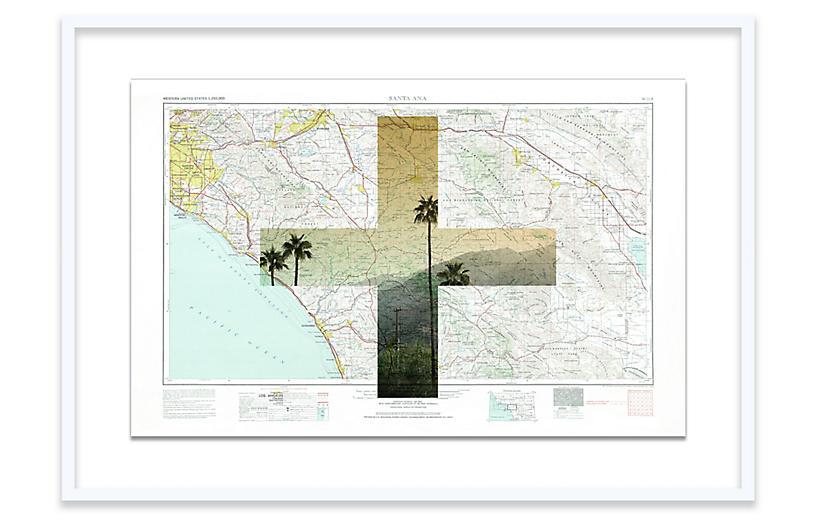 Christine Flynn, Santa Ana Map