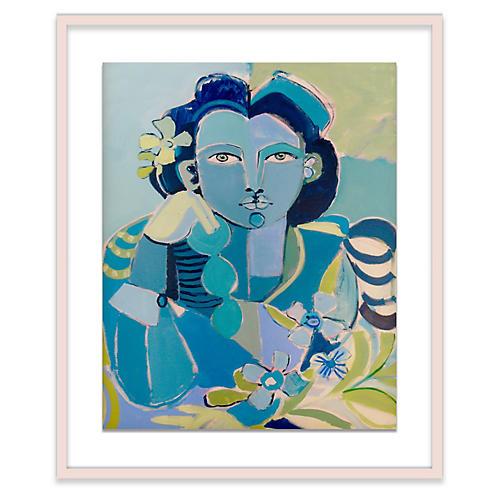 Hayley Mitchell, Blue Lady