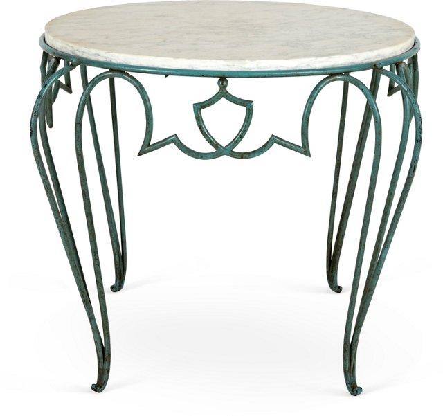 1940s French  René Drouet Iron Table
