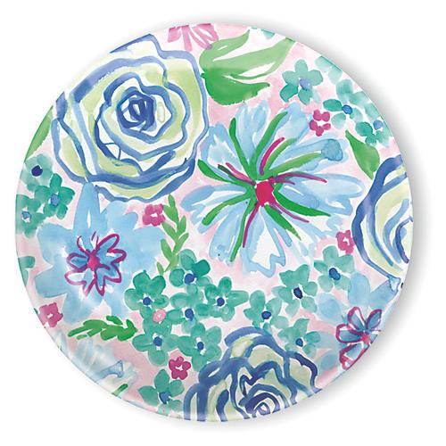 "Spring Garden Melamine Salad Plate, 8"""