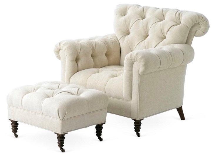 Robin Chair & Ottoman