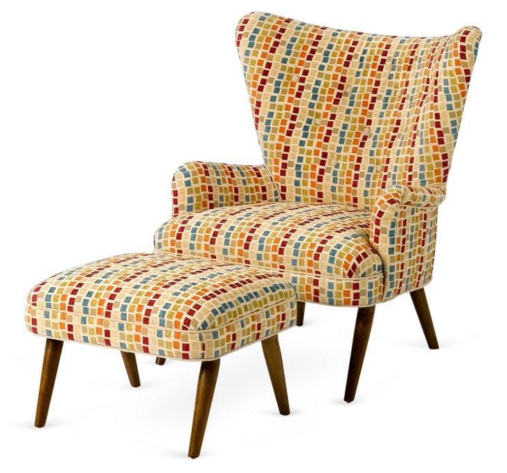 Lola Chair & Ottoman