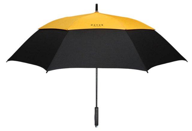 Golf Umbrella, Yellow/Black
