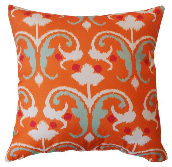 Reinvent 20x20 Outdoor Pillow, Orange