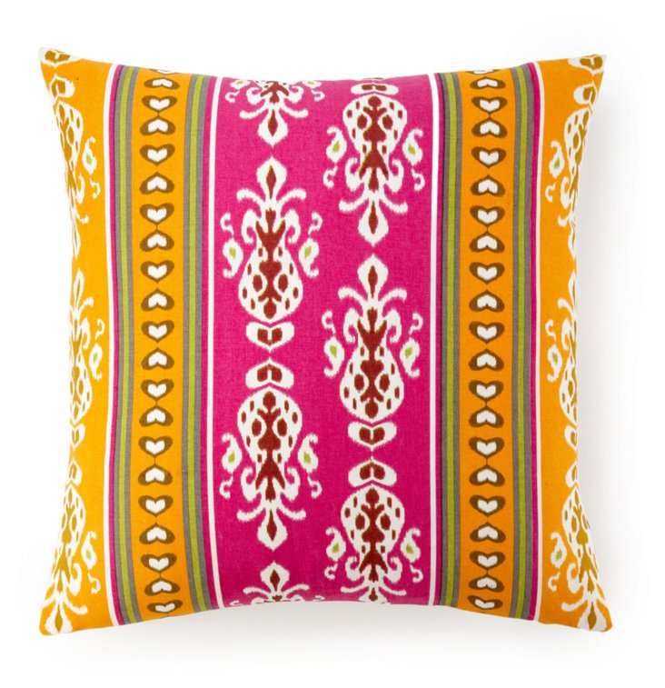 Shalimar 20x20 Cotton Pillow, Multi