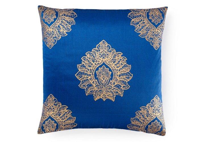 Khari 20x20 Pillow, Royal Blue