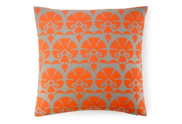 Mandwa 20x20 Pillow, Orange