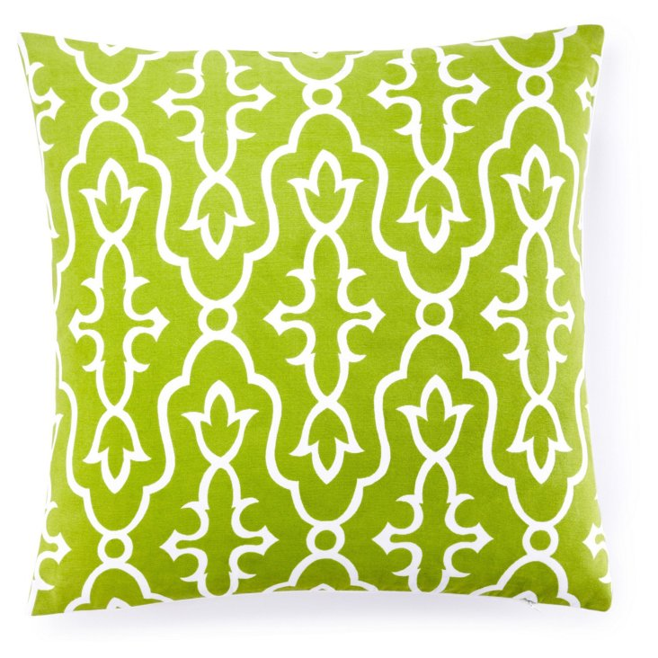 Maira 20x20 Pillow, Green