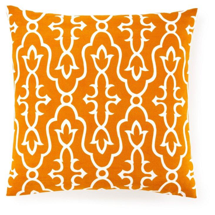 Maira 20x20 Pillow, Orange