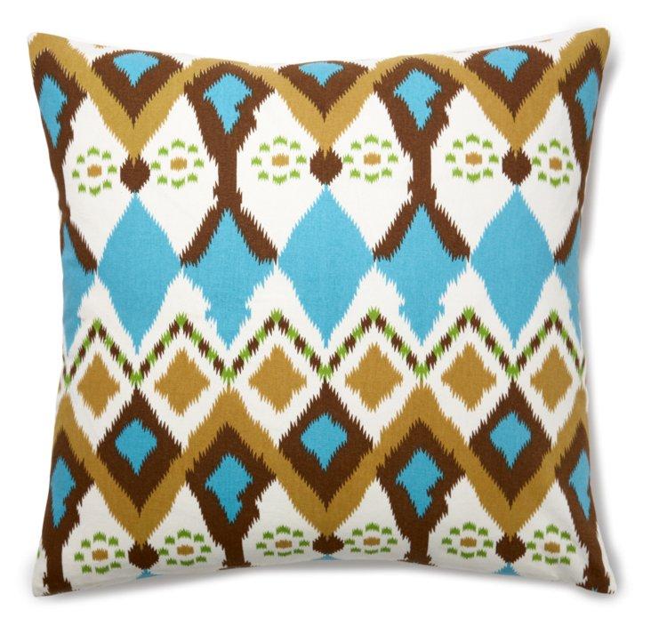 Meera 20x20 Cotton Pillow, Multi