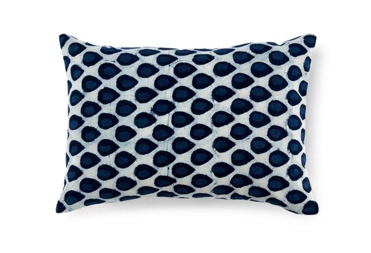 Droplet 14x20 Pillow, Blue