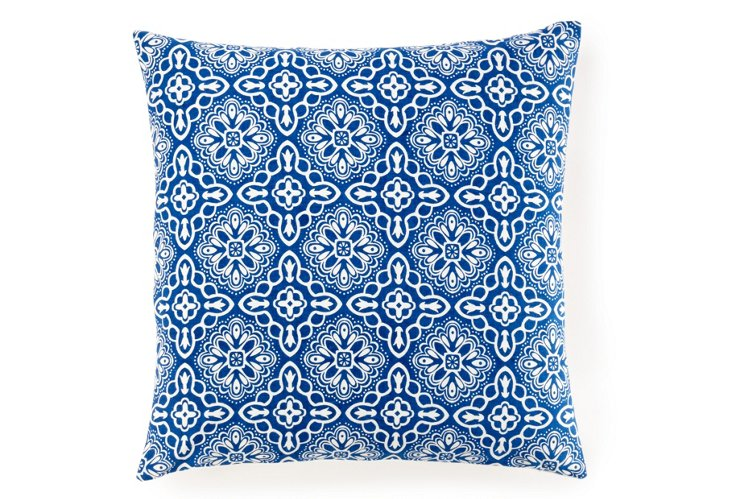 Haveli 20x20 Pillow, Indigo