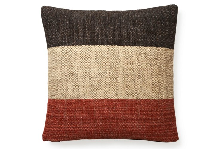 Tribu 20x20 Pillow, Red/White/Blue