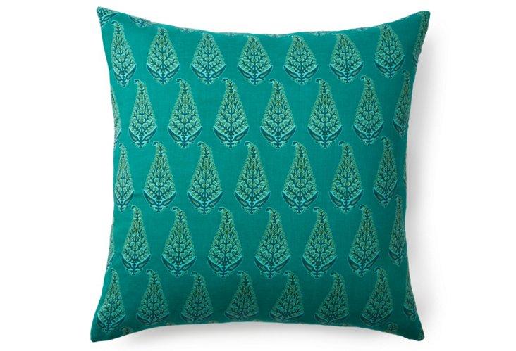 Payal 20x20 Pillow, Teal
