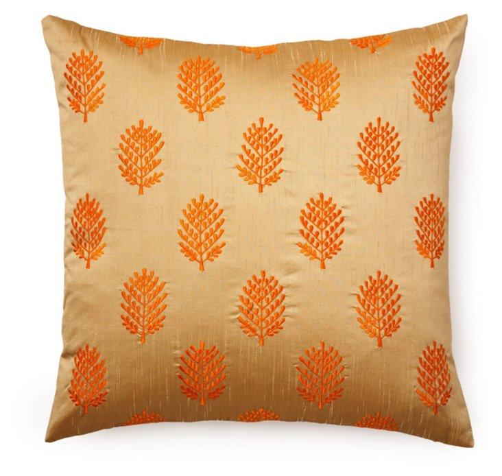 Henna 20x20 Pillow, Taupe