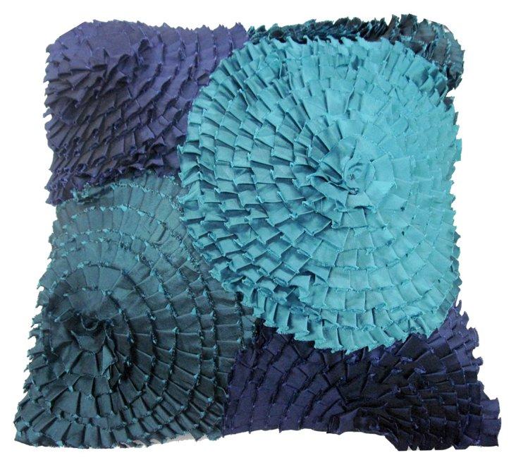 Petal Toss 16x16 Pillow, Linen