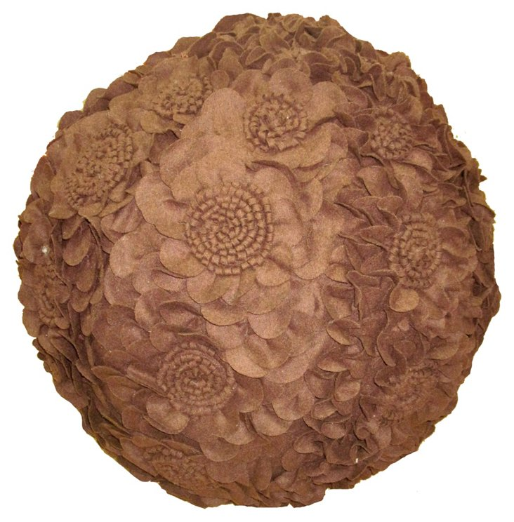 Flower Round Pouf, Java