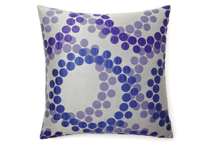 Maxime 20x20 Pillow, Purple